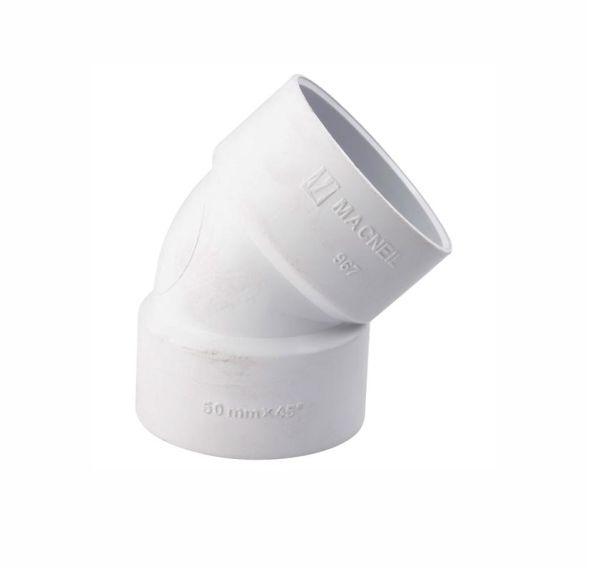 45° F/F PVC elbow