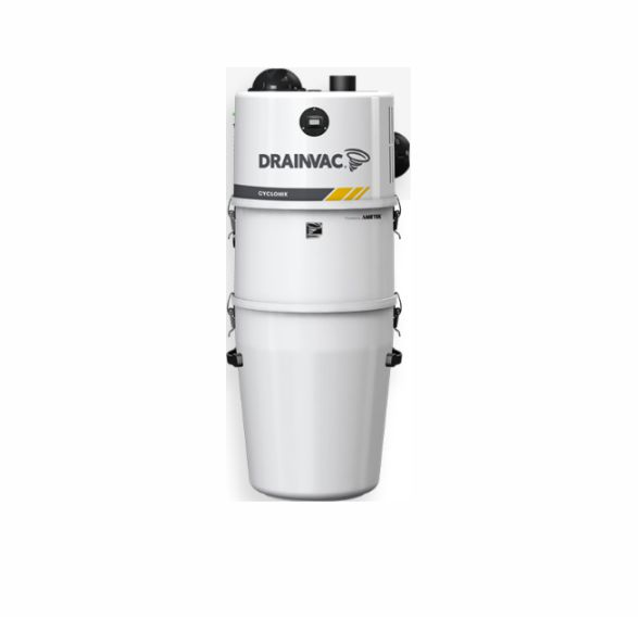 Commercial central vacuum – Cyclonic 3.46 HP with cartridge filter